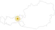 Hike Grosser Galtenberg Alpbach - Tyrol in the Alpbachtal Seenland: Position on map