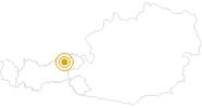 Hike Plessenberg Alpbach - Tyrol in the Alpbachtal Seenland: Position on map