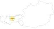 Wanderung Über den Krummen Steig und den Schönangersteig zur Seefelder Spitze / Weg Nr. 81, 10, 7 in der Olympiaregion Seefeld: Position auf der Karte