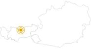 Hike Gleirschklamm Gorge Karwendel - Tyrol in the Olympiaregion Seefeld: Position on map