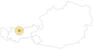 Wanderung Hochalmwanderung oberhalb des Gaistales in der Olympiaregion Seefeld: Position auf der Karte