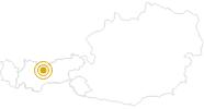 Wanderung Friedenswanderweg Seefeld in Tirol in der Olympiaregion Seefeld: Position auf der Karte