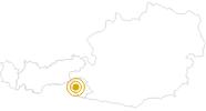 Wanderung Trogach - Obserseitsee - Seespitze in Osttirol: Position auf der Karte