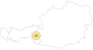 Wanderung Gletscherweg Innergschlöß in Osttirol: Position auf der Karte