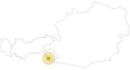 Wanderung Rund um den Thurntaler in Osttirol: Position auf der Karte