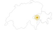 Wanderung Senda Lumneziana - Graubünden in Surselva: Position auf der Karte