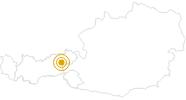 Wanderung Rundweg an der Schönangeralm - Tirol in Wildschönau: Position auf der Karte