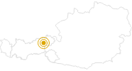 Hike Kundl Gorge Wildschönau Tyrol in Wildschönau: Position on map