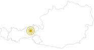Hike Schatzberg - Wildschönau Tyrol in Wildschönau: Position on map