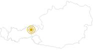 Wanderung Franziskusweg Wildschönau in Wildschönau: Position auf der Karte