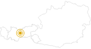 Hike Sellrain Mountain Hut Tour - Tyrol Innsbruck and its holiday villages: Position on map
