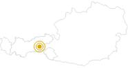 Hike Gerlossteinwand - Zell am Ziller in the Zillertal: Position on map