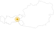 Hike Rosenalm - Gründlalm Circuit Zell am Ziller in the Zillertal: Position on map