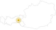 Hike Circuit Isskogel - Kreuzjoch - Gerlos in the Zillertal: Position on map