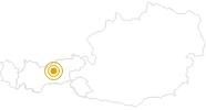 Wanderung Wandern am Adolf-Pichler-Weg in der Region Hall - Wattens: Position auf der Karte