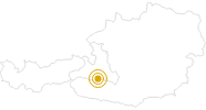 Wanderung Amoseralm - Drei Waller Kapelle - Rauchkögerl - Hahnbalzköpfl im Gasteinertal: Position auf der Karte