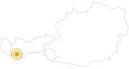 Hike Goaspleisenkopf Nauders in the Tyrolean Oberland: Position on map