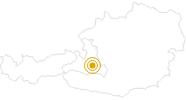 Wanderung Panorama Höhenwanderung Kleinarl in der Salzburger Sportwelt: Position auf der Karte