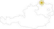 Wanderung Göpfritzschlag - Hohenwarth - Münchreith im Waldviertel: Position auf der Karte