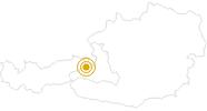Wanderung Vom Schwarzleotal auf die Spielbergalmen in Saalfelden-Leogang: Position auf der Karte