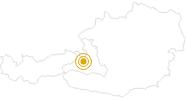 Wanderung Marbachhöhe am Hochkönig: Position auf der Karte
