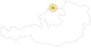 Wanderung Weg der Entschleunigung im Böhmerwald (6 Tage-103 km) im Böhmerwald: Position auf der Karte