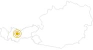 Hike Mountain Huts Tour Hochoetz Ötztal: Position on map