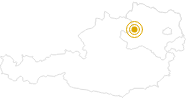 Hike Herzsteinweg – St. Oswald in the Waldviertel: Position on map