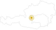 Hike From Horstigweg to Friedenskircherl at Stoderzinken in Schladming-Dachstein: Position on map