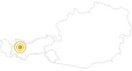 Hike Three Hut Hike - Imst in the Ferienregion Imst: Position on map