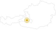 Wanderung Großarl - Schmalzscharte - Gasteinertal im Grossarltal: Position auf der Karte