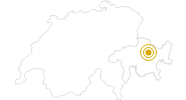 Hike Davos/Clavadel - Sertig Dörfli in Davos Klosters: Position on map