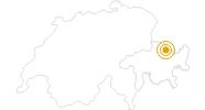Wanderung Wanderung Prättigauer Höhenweg (in 4 Etappen) im Prättigau: Position auf der Karte