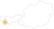 Wanderung Rundwanderweg Mathon in Paznaun - Ischgl: Position auf der Karte