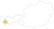 Hike Adventure Path Ischgl - Idalp in Paznaun - Ischgl: Position on map