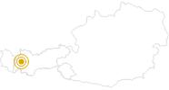 Wanderung Fernwanderweg E5: Memminger Hütte - Seescharte - Lochbachtal - Zams in Tirol West: Position auf der Karte