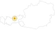 Wanderung Vom Almdorf Eng zur Falkenhütte im Karwendelgebirge in der Silberregion Karwendel: Position auf der Karte