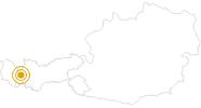 Wanderung Adlerweg - Vom Kaiserjochhaus bis nach St. Anton in St.Anton am Arlberg: Position auf der Karte