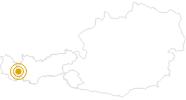 Wanderung Adlerweg – Von St. Anton zur Konstanzer Hütte in St.Anton am Arlberg: Position auf der Karte
