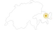 Wanderung Jöriseen Rundtour in Davos Klosters: Position auf der Karte