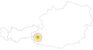 Wanderung Talrundweg Kals in Osttirol: Position auf der Karte