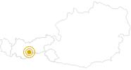 Wanderung WildeWasserWeg - Stubaital in Stubai: Position auf der Karte