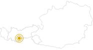 Wanderung Seven Summits - Zuckerhütl in Stubai: Position auf der Karte