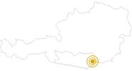 Wanderung Panoramaweg Südalpen - Etappe 13 -St. Paul - Griffner Berg im Lavanttal: Position auf der Karte