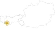 Wanderung Kaiserschützenweg bei Nauders im Tiroler Oberland: Position auf der Karte