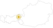 Wanderung Wohlfühlweg Westendorf in den Kitzbühler Alpen - Brixental: Position auf der Karte