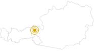 Wanderung Goasberg Joch - Panorama und Almenweg in den Kitzbühler Alpen - Brixental: Position auf der Karte