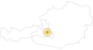 Wanderung Flachauwinkl - Untere und Obere Ennsalmen - Benzeck in der Salzburger Sportwelt: Position auf der Karte