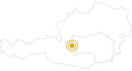 Wanderung Keinprechthütte in Schladming-Dachstein: Position auf der Karte