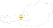 Hike Staffkogel in Saalbach-Hinterglemm: Position on map